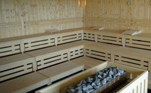 Saune Eismaschine